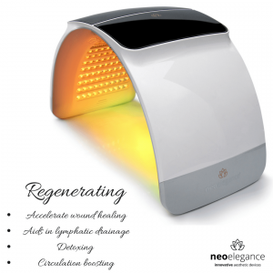 LED light therapy Yellow