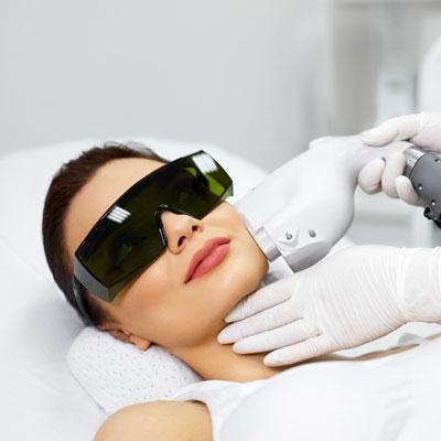 Laser skin rejuvenation Icon Image