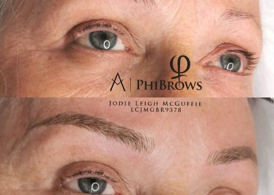 Microblading before and after picture 2